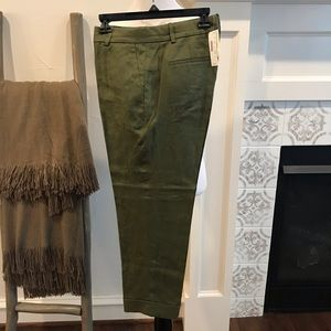 NWT JCrew Linen pants